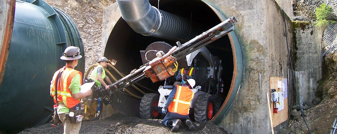 TUNNEL STABILIZATION / REPAIRS / GROUTING