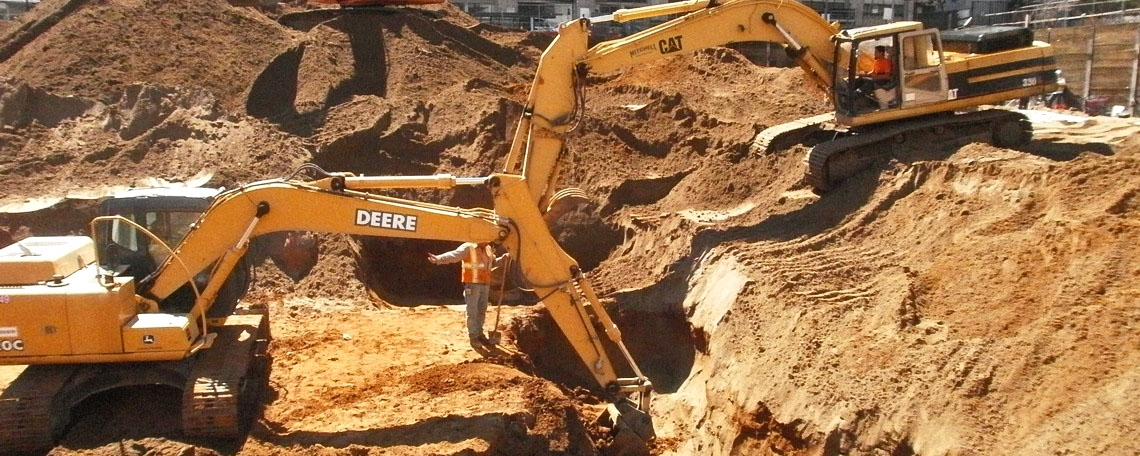 SITE MASS EXCAVATION
